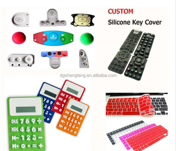 Custom Silicone Rubber Pads Cover for Calculator,Silicone Pad for Remote Controller