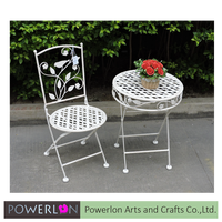 Bebe Style Children's Pirate Themed Iron Table and Chair Set