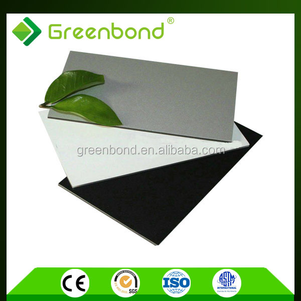Greenbond high class anti-static composite panel acm for kitchen cabinets