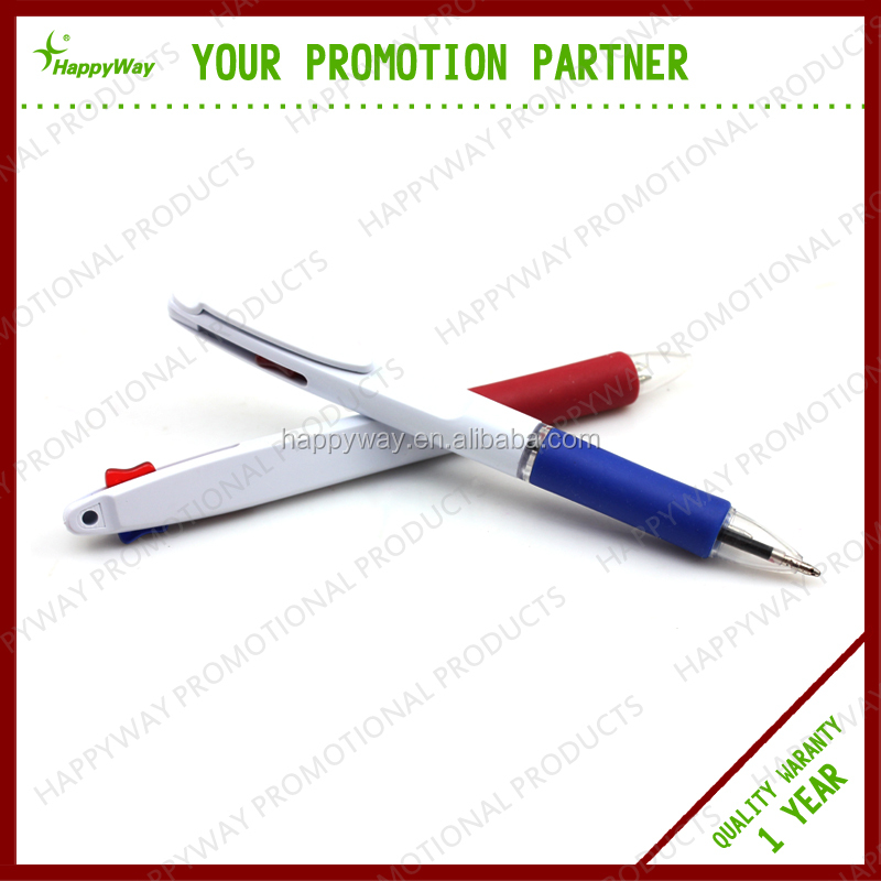 Best Selling Plastic Two Color Ballpoint Pen