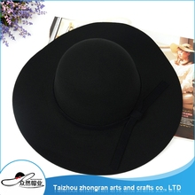 2017 Top Class Quality Wool Felt Ladies Wool Hat Wool Felt Fedora Hat