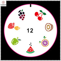 ladybird nail art tool Custom fruits patterns Nail Art Stamping Image Plates