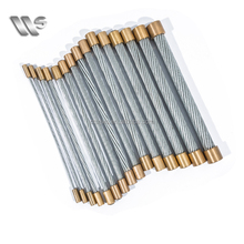Galvanized Aircraft Cable 1*7 1*19, Cable Steel Wire