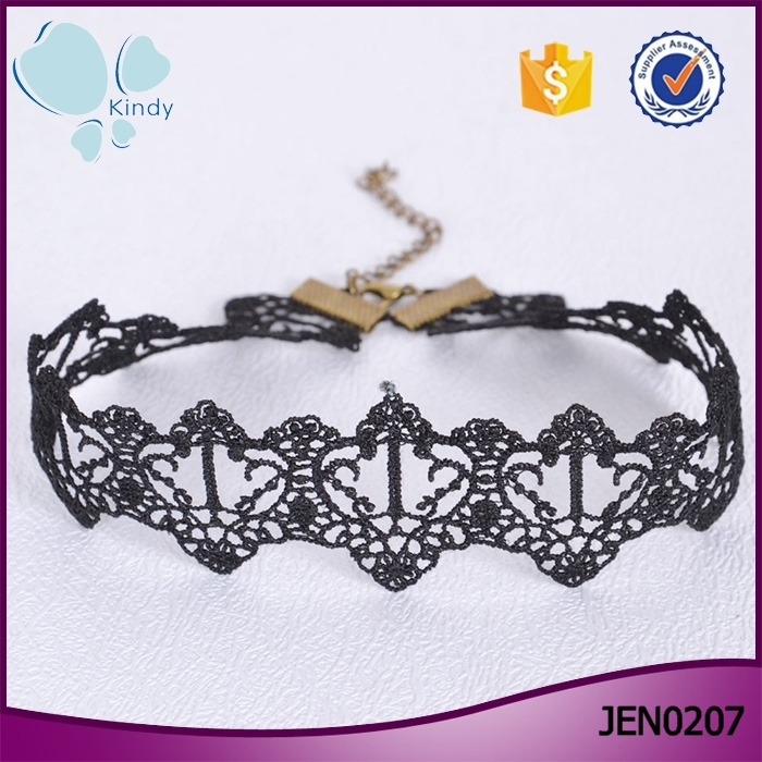 Online shop china best selling lace jewelry fashion choker for Best place to sell jewelry online