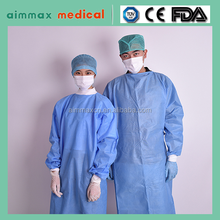 XXL non sterile disposable surgeon gown