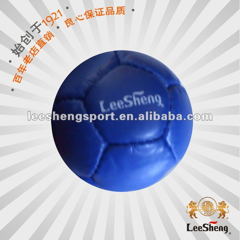 Supply cow leather boccia ball, bocce ball