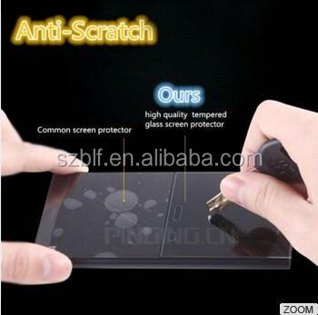 good price anti-shock 5.0 inch anti scratch for Huewei G630 Tempered glass screen protector