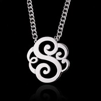High polished Metal Pendant In Silver Fashion Necklaces Celtic Design
