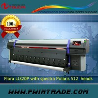 3.2m large format spectra Polaris 512 head LJ 320P flora printer