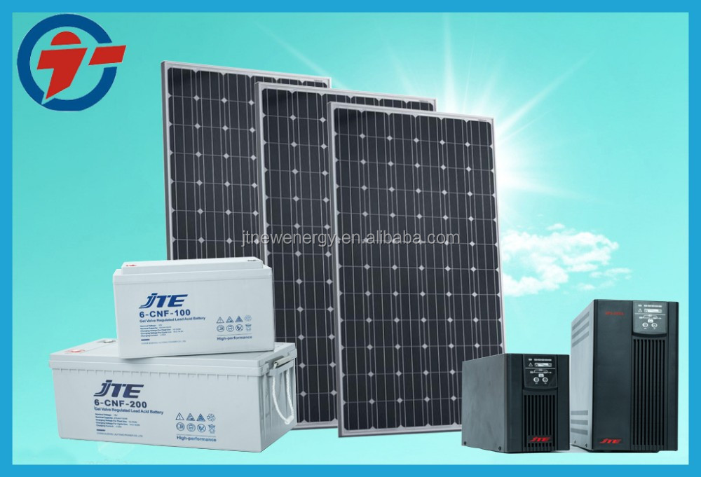 high efficiency & hot sale 3kW solar power system for home generation