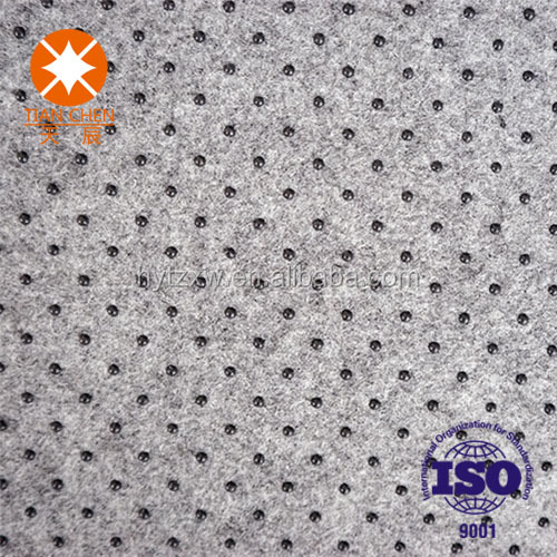 100% polyester needle punched nonwoven felt fabrics textiles raw material
