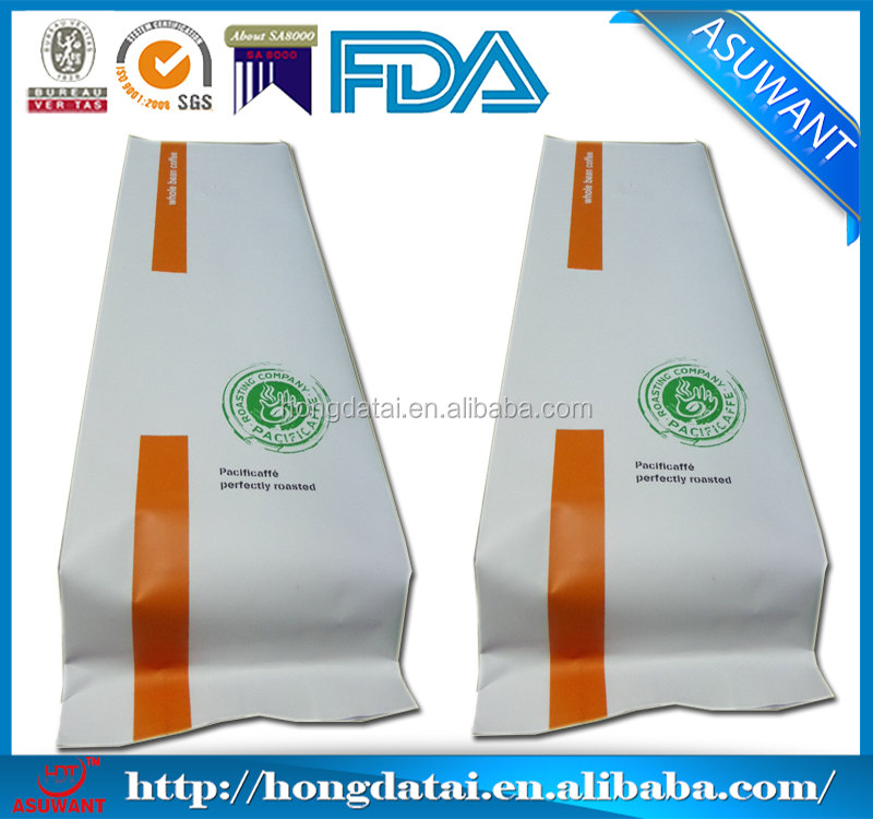 1 kg coffee beans plastic bags, coffee bag, coffee bag with valve