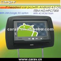 Andriod 4.0 OS tablet car pc for the cabs