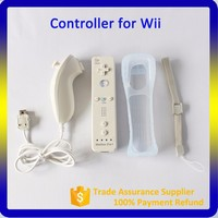 Factory Supply Remote and Wired Nunchuck 2 in 1 Motion Plus for Wii Controller