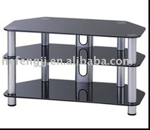 glass lcd tv cabinet