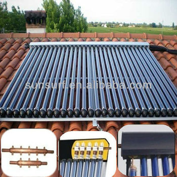 SunSurf New Energy SC-C01 20 tube solar system collectors in china