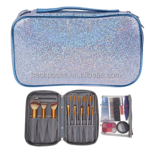 Makeup organizer Toiletry bag for women men Travel kits make up Brushes Cosmetic Bags organizador
