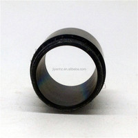 CNC machined turned round sleeve low/mild carbon steel eccentric bushing