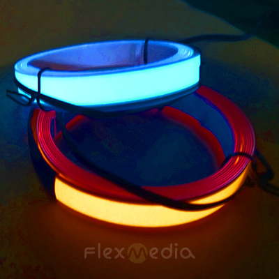 High Brightness EL Tape 1cm X 150cm, white and colored, el backlit sheet