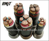 YJV22 Steel taped armored copper PVC cable XLPE Cross-linked polyethylene insulated power cable