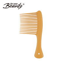 Factory good quality plastic jumbo long large wide tooth bone rake rage hair comb