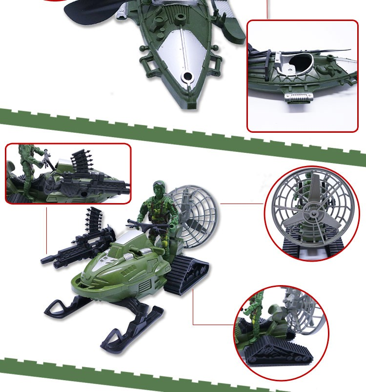 2016 New Product Toys Heroes Figures Military Set Toys