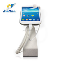 Elegant appearance mobile phone holder with alarm and USB charging function