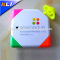China factory direct 4 colors square shape highlighter pen