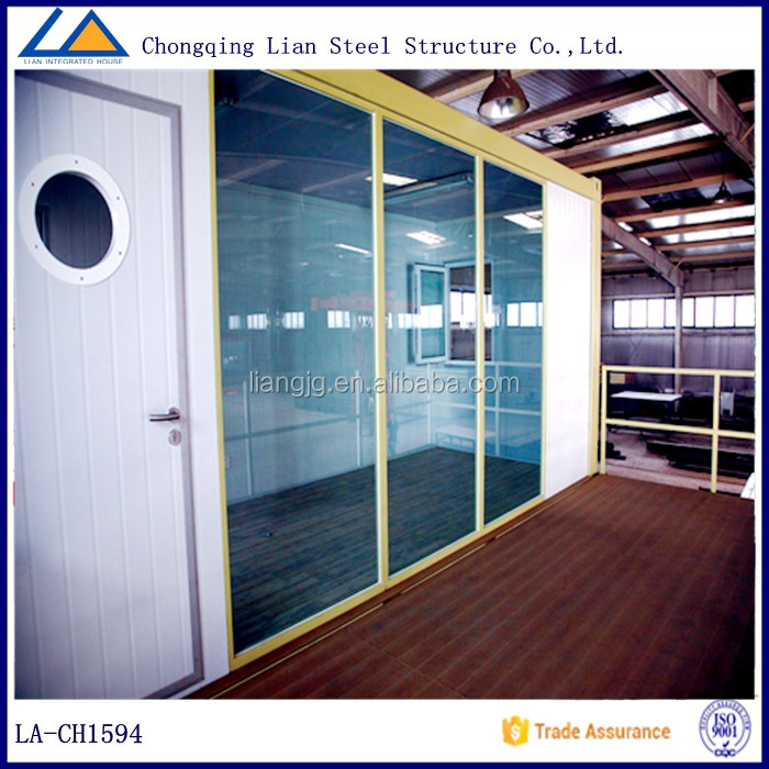 Glass Container Homes/House/Office for Sale