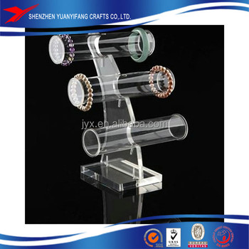 acrylic jewelry display stand/jewelry display neck stands