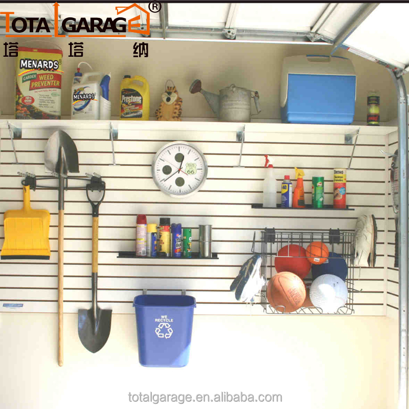 Wholesale Price Garage Storage 3D PVC Wall Paneling for Slatwall