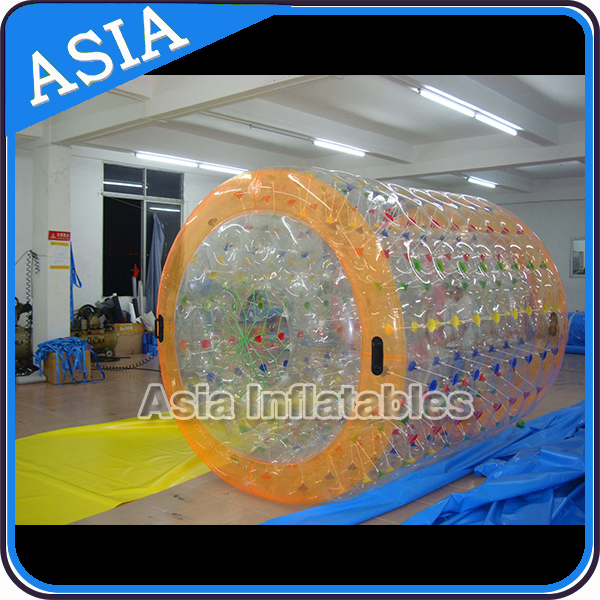Water toy Inflatable floating walking water play roller wheel