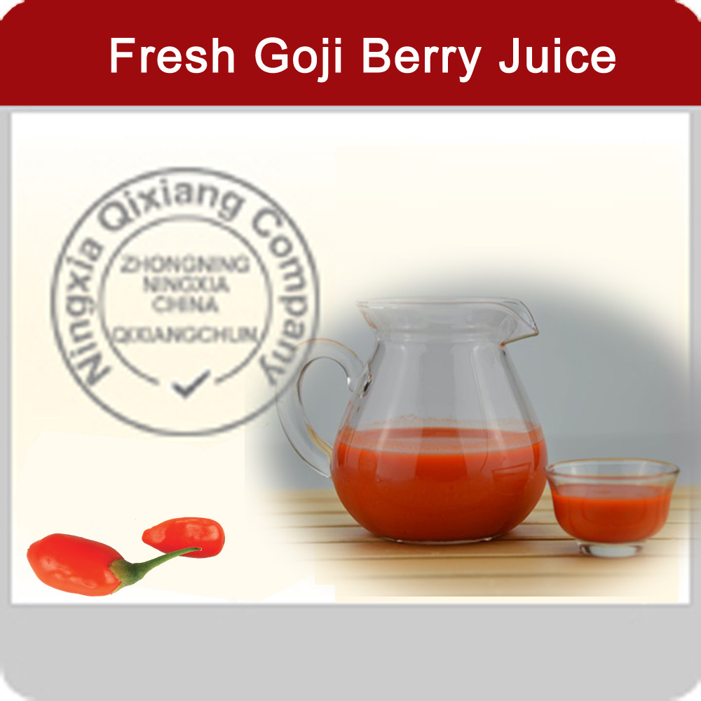 Manufacturer Supply Goji Juice