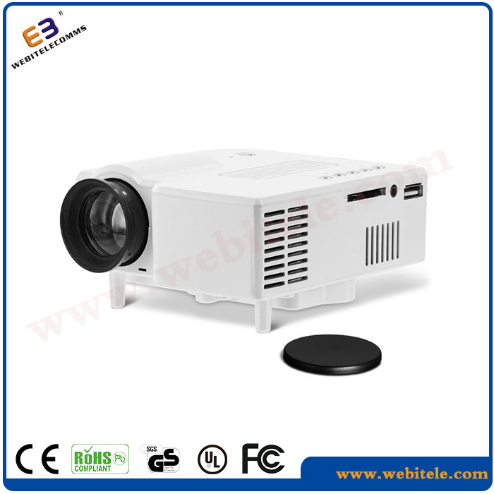 Portable home theater Projector,mini led Micro projector exceed game projector