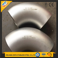 LR Seamless 90 Degree Stainless Steel