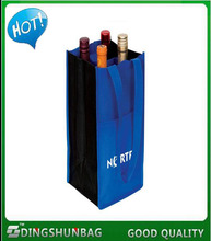 DINGSHUN Hot sale cheap professional image printing non woven wine bag