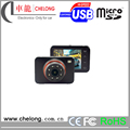 High quility Factory Price 2.7 inch TFT 150 deg wide angle WDR Car DVR