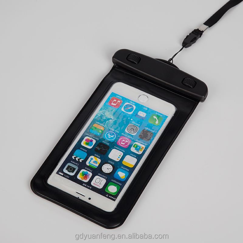 factory price pvc waterproof smartphone bag with armband for iphone 6 plus