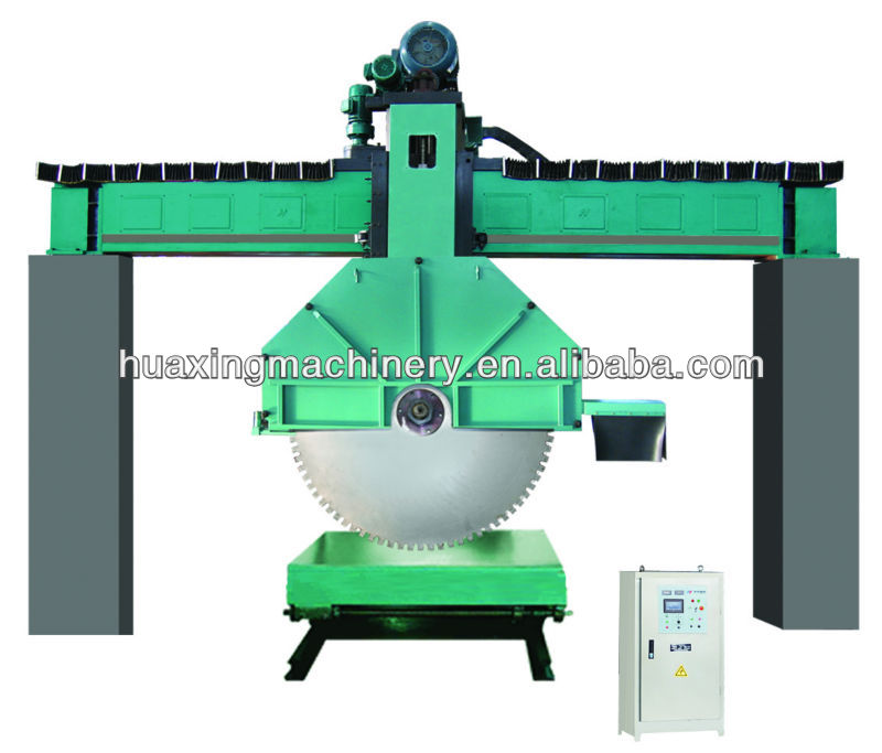 QJS180 Bridge Diamond Disc Stone Sawing Machines--huaxing brand