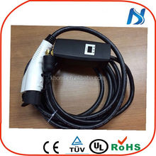 32A EVSE iec 62196 ev charging station type 2 IEC 62196 EV Charging Cable with control box for fast charging pile