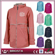 Wholesale Personalized Charles River Monogram Rain Jackets