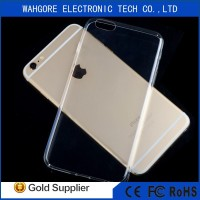 0.3mm tpu for iphone 6 transparent case for iphone 6 tpu case
