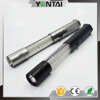 LED professional lighting powerful and cheap magnetic led flashlight tactical