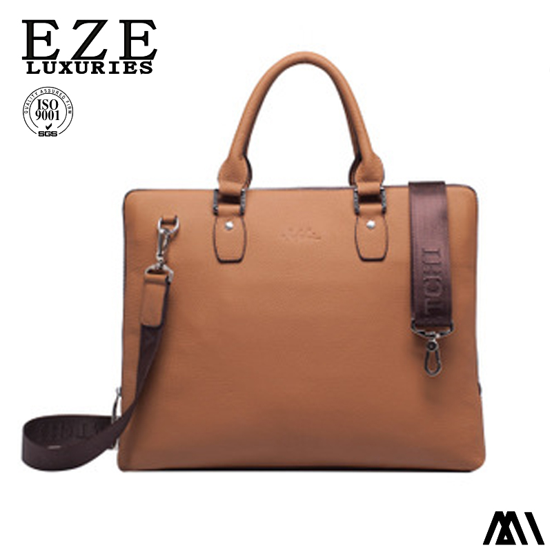 Men's Luxurious Genuine Leather Briefcase