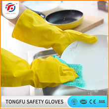 Customized Good Quality Long Sleeve Rubber Household Glove