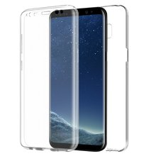 New Arrival Full Body TPU Case For Galaxy S8 Mobile cases, 360 Degree Phone Cover For Samsung S8