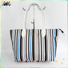 Diaper bag/ Daily purse/Messenger bag with colours nautical stripe, fashion diaper bag,korea fashion ladies handbag