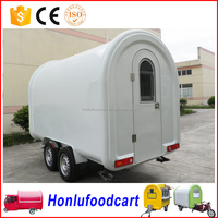 New style food truck trailer / mobile food cart