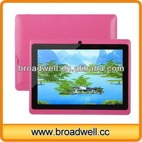 "Low price Dual Camera Android 4.1 HD Screen 7"" rockchip rk2928 a9 tablet pc with Bluetooth"
