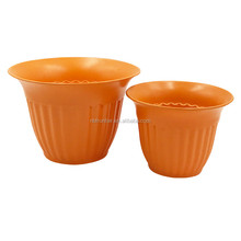 Wholesale Custom Computer table decoration Natural Bamboo Fiber Cheap Flower Pots